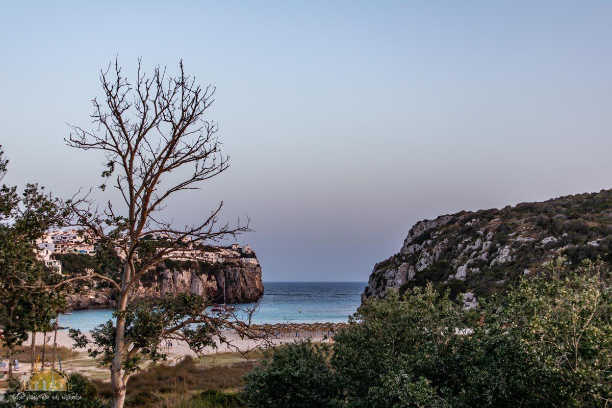 Minorka plaża Cala en Porter 1