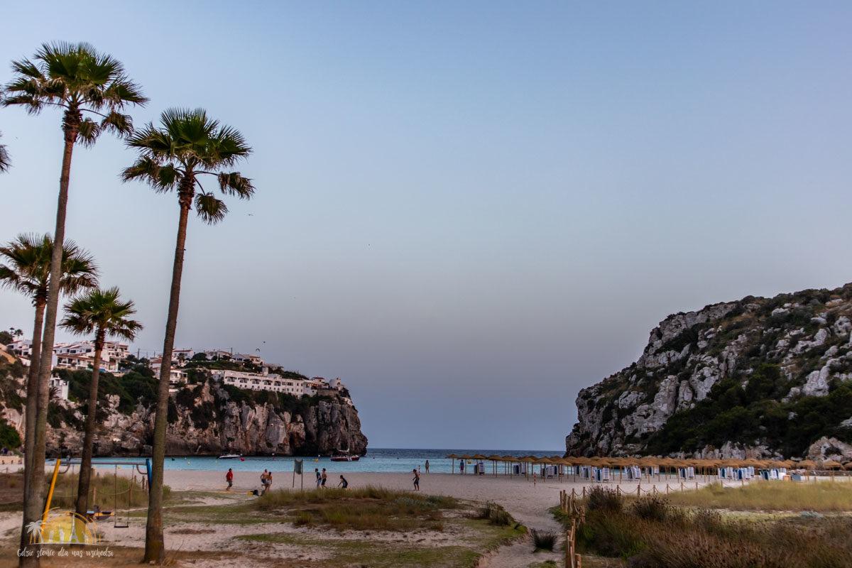 Minorka plaża Cala en Porter 2