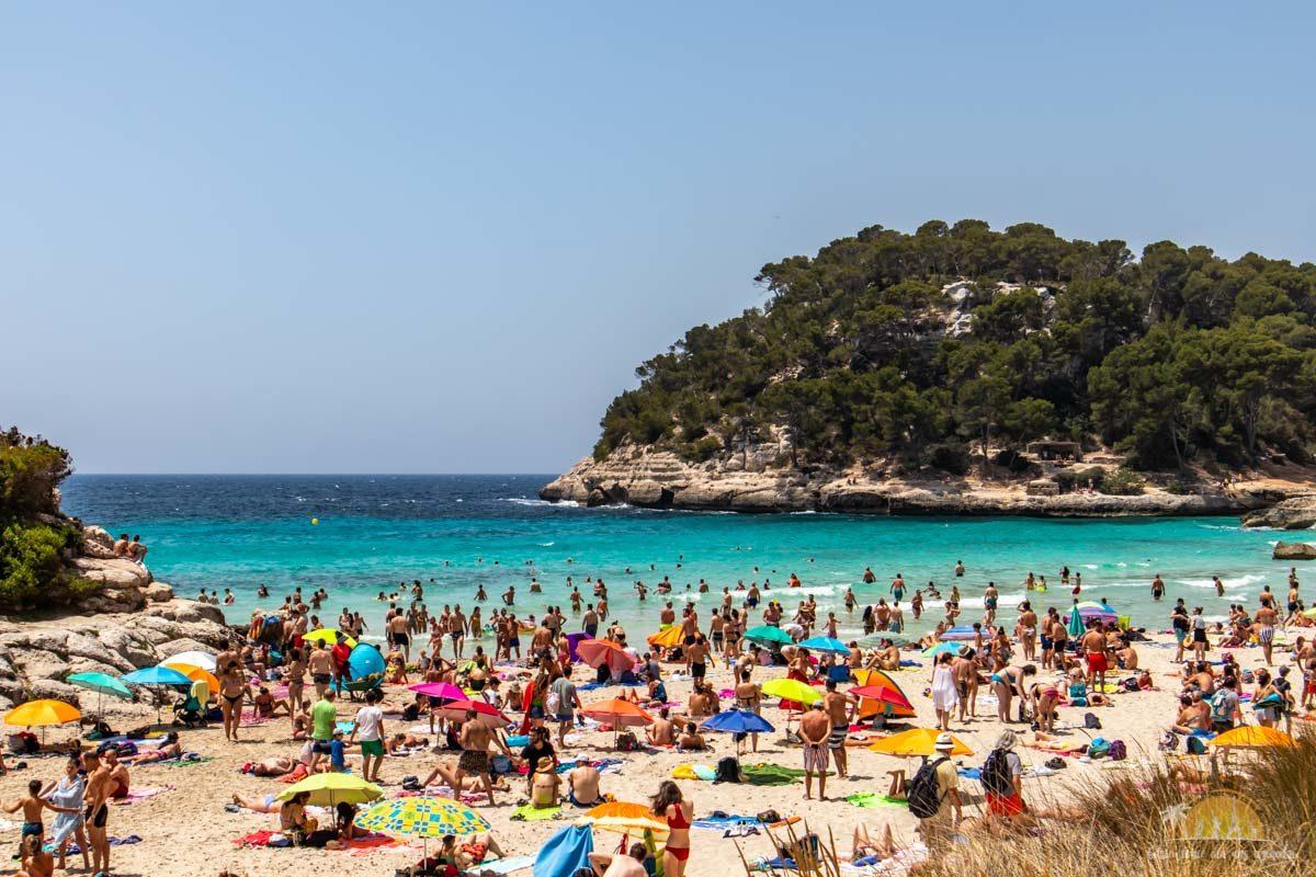 Minorka plaża Mitjana 2