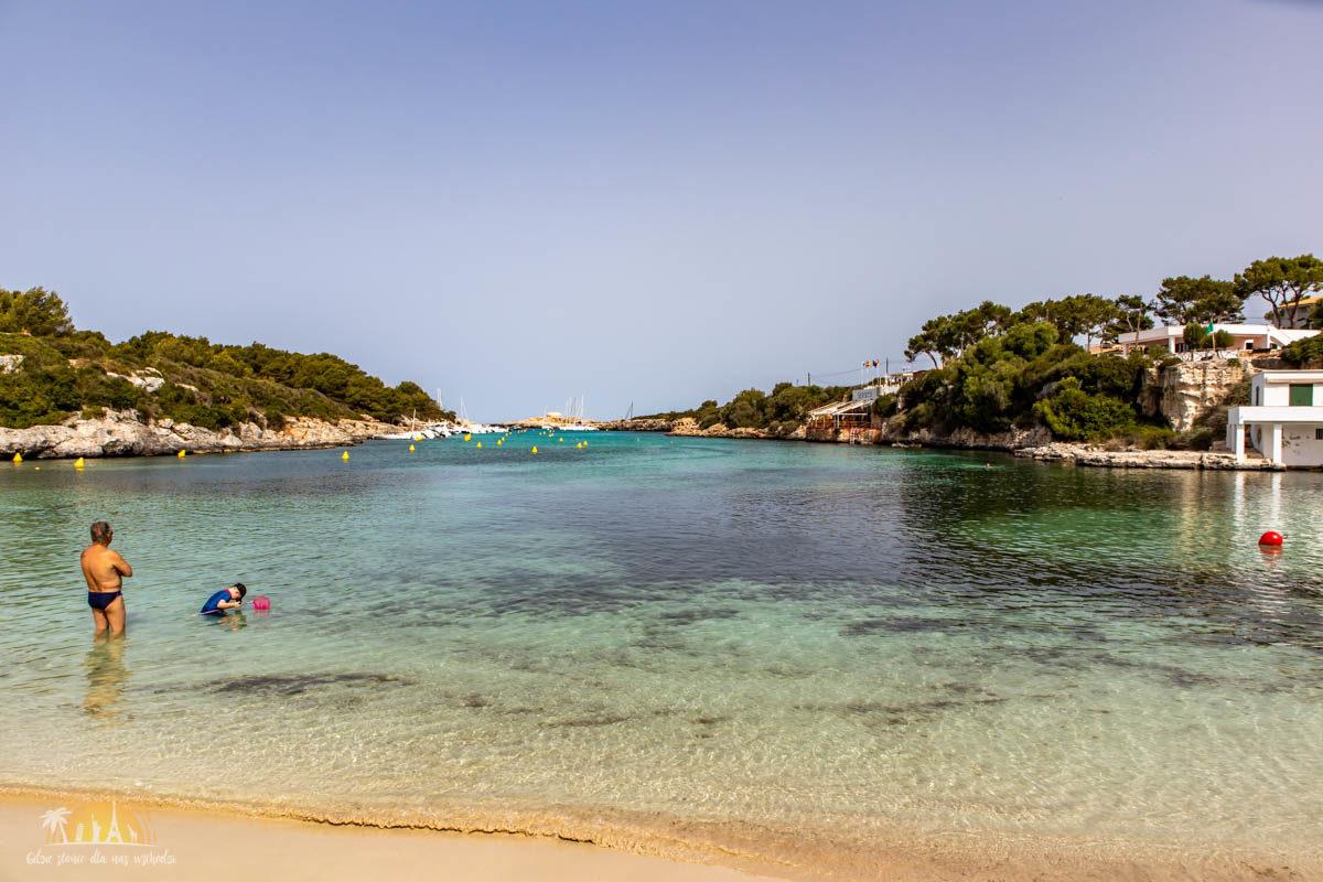 Minorka plaża Santandria 2