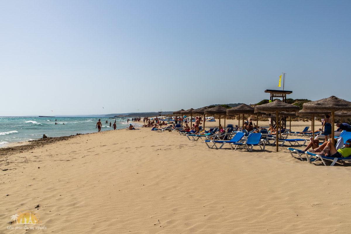Minorka plaża Son Bou 2