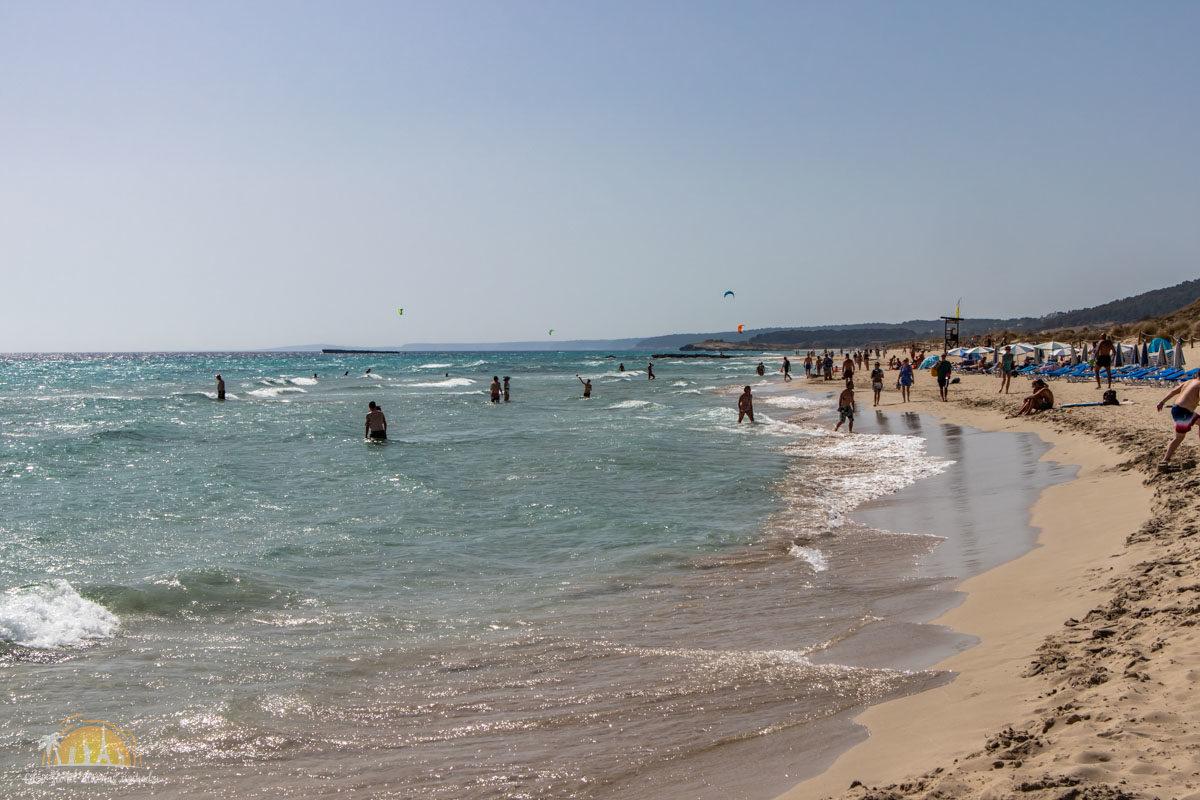 Minorka plaża Son Bou 2-2
