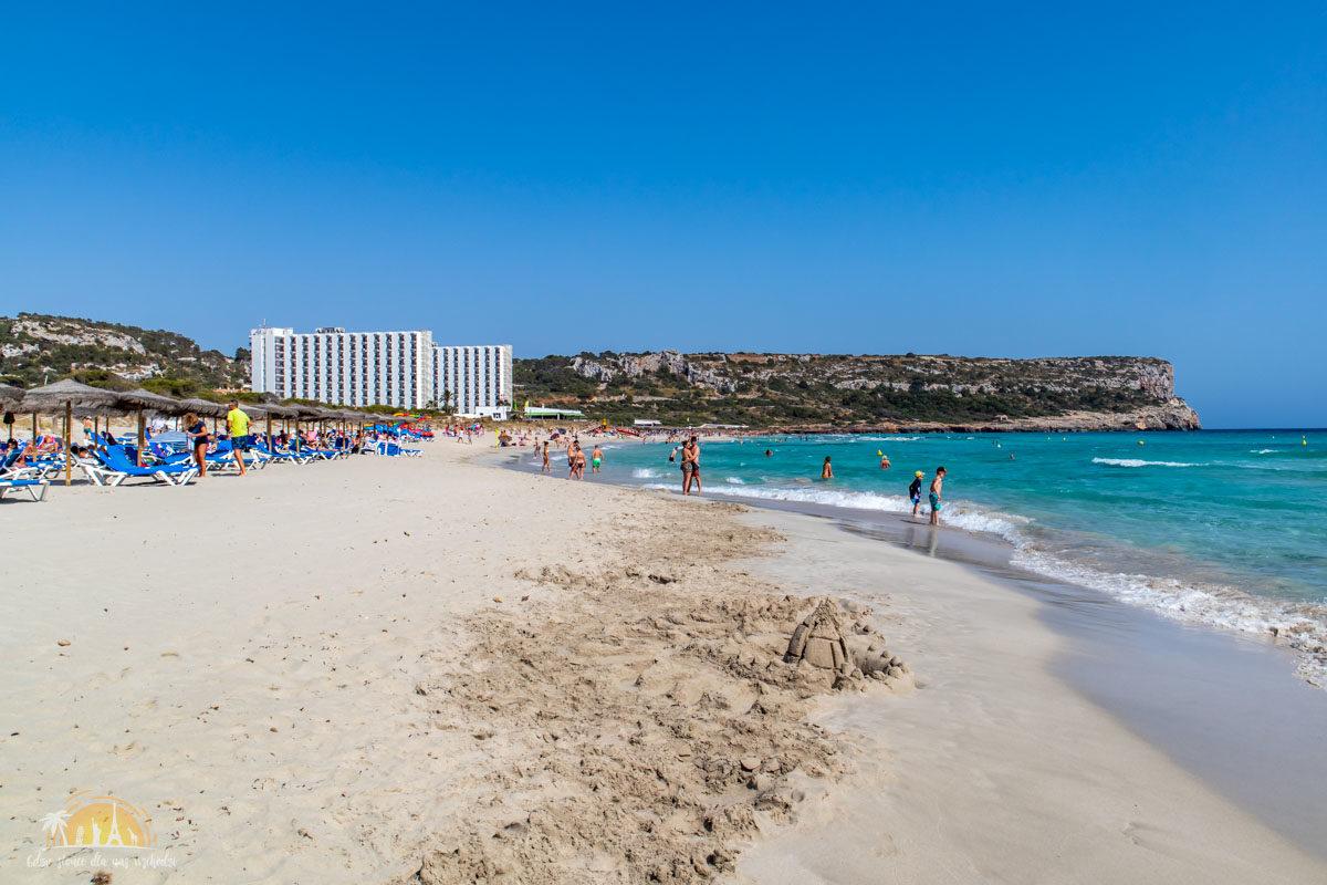 Minorka plaża Son Bou 3