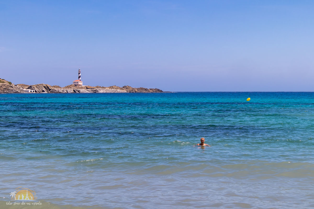 Minorka plaża cala Presili 2