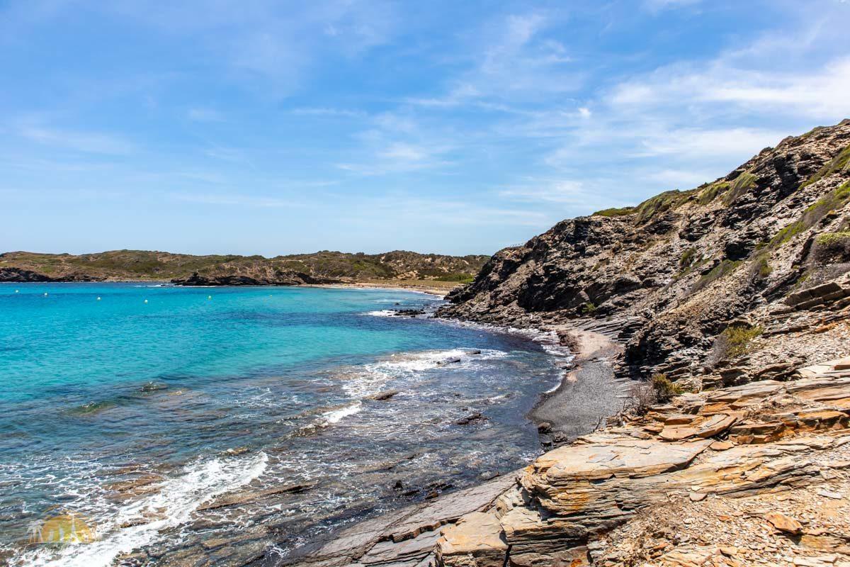 Minorka plaża cala Tortuga 1