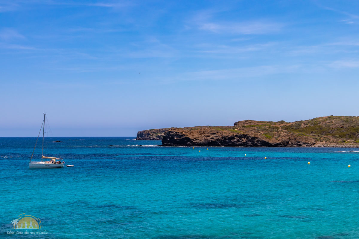 Minorka plaża cala Tortuga 2