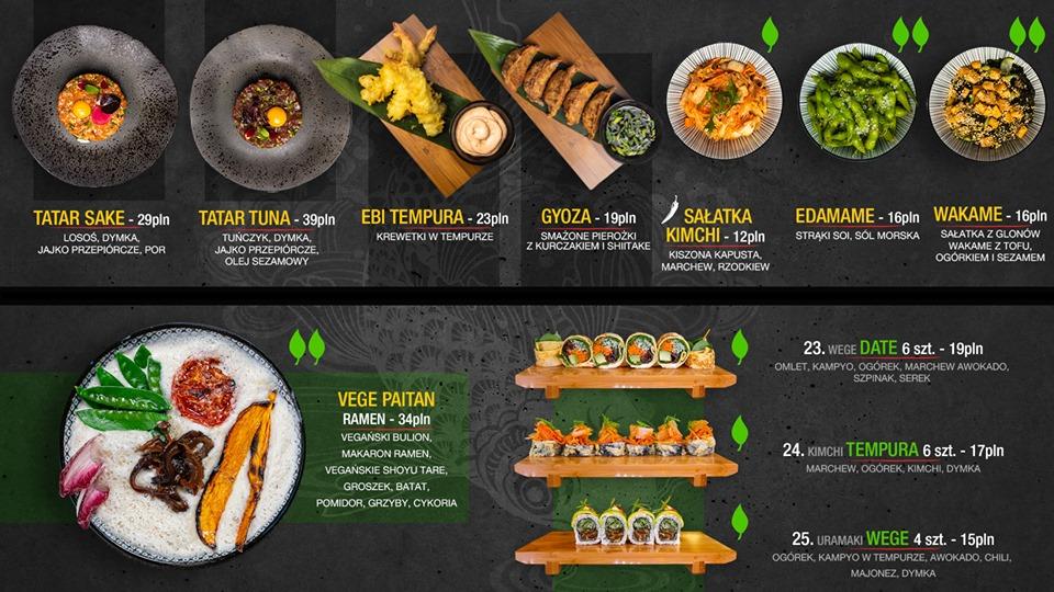 Ramen & Sushi by mitsuro menu Gdansk 2