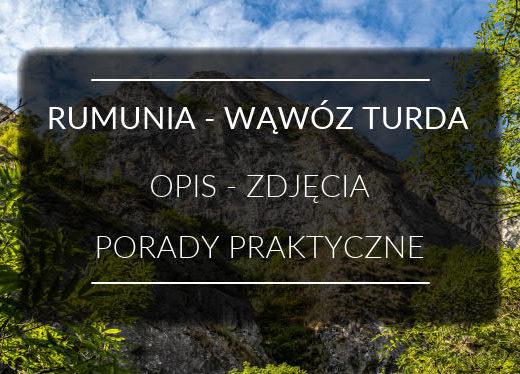 Rumunia Wąwóz Turda MINI