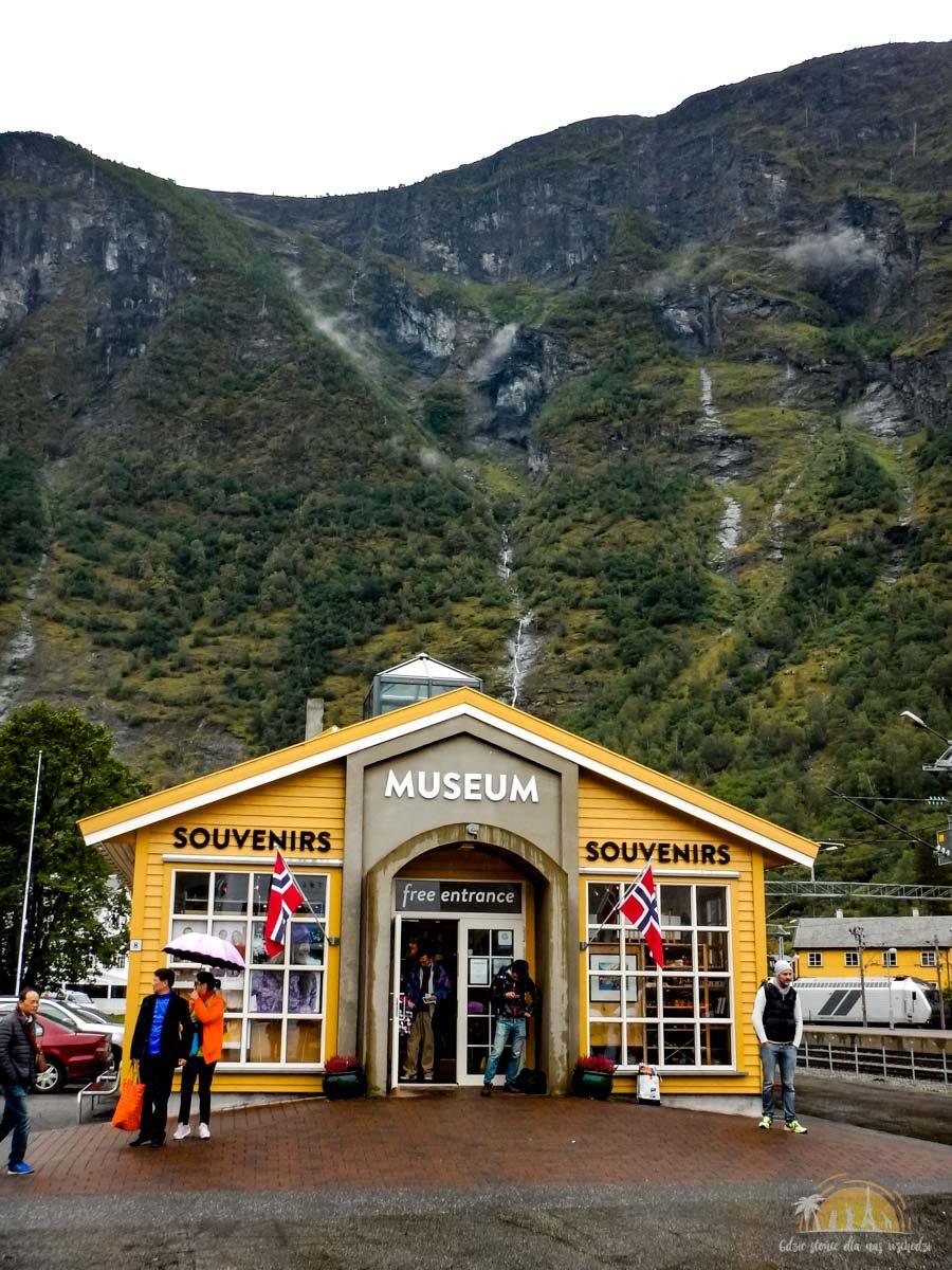 Flåmsbana Norwegia Atrakcje Muzeum 1