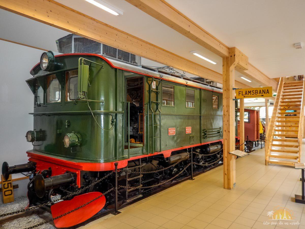 Flåmsbana Norwegia Atrakcje Muzeum 2