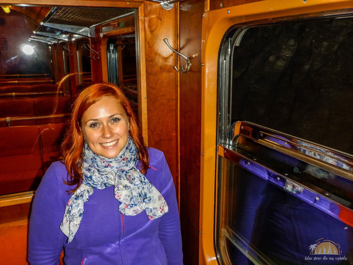 Flåmsbana Norwegia Atrakcje wagony 3