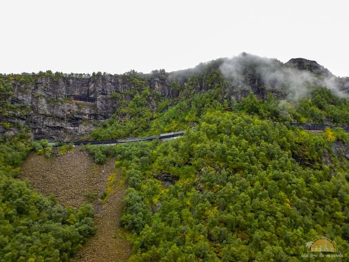 Flamsbana Norwegia Atrakcje trasa kolejowa 11