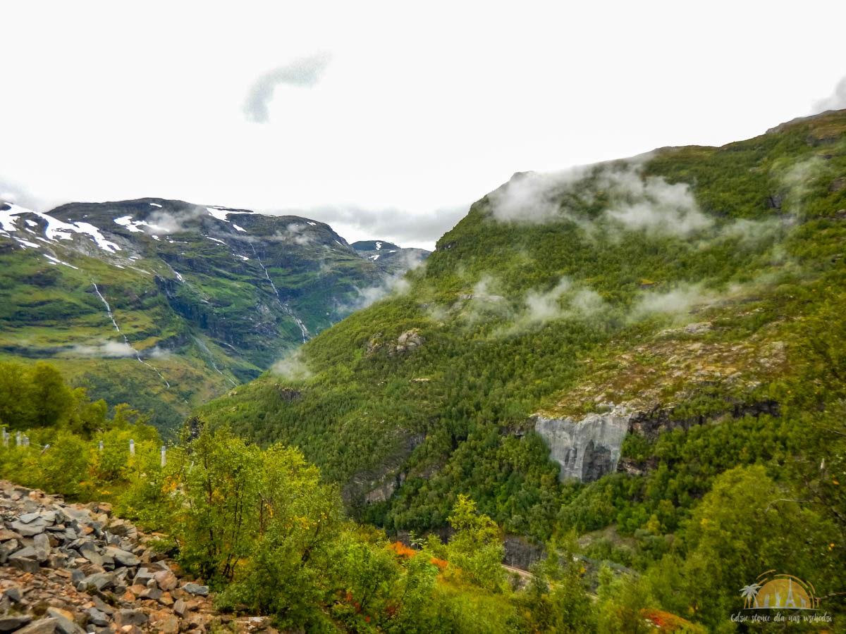 Flamsbana Norwegia Atrakcje trasa kolejowa 16