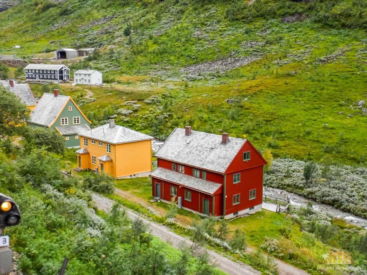 Flamsbana Norwegia Atrakcje trasa kolejowa 17