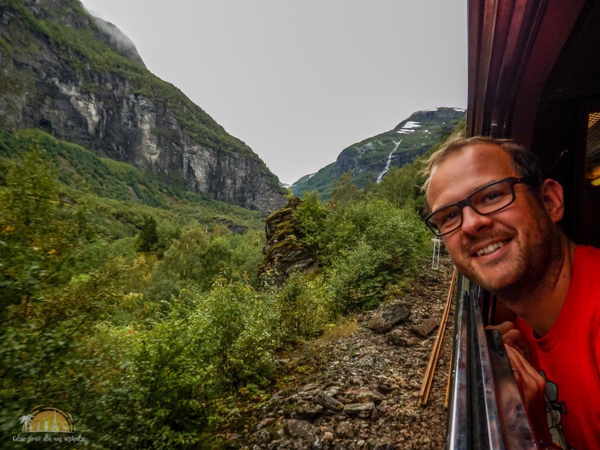 Flamsbana Norwegia Atrakcje trasa kolejowa 6