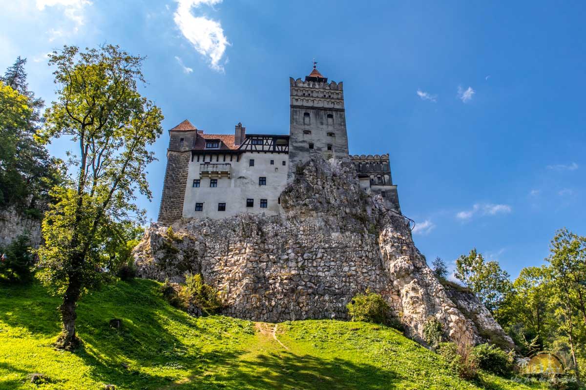 Rumunia Zamek Bran - przygotowania 17