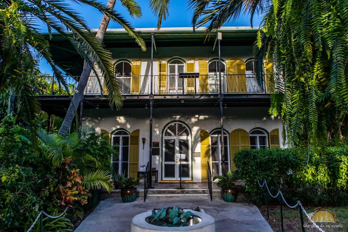 USA Key West Dom Hemingwaya 14-1