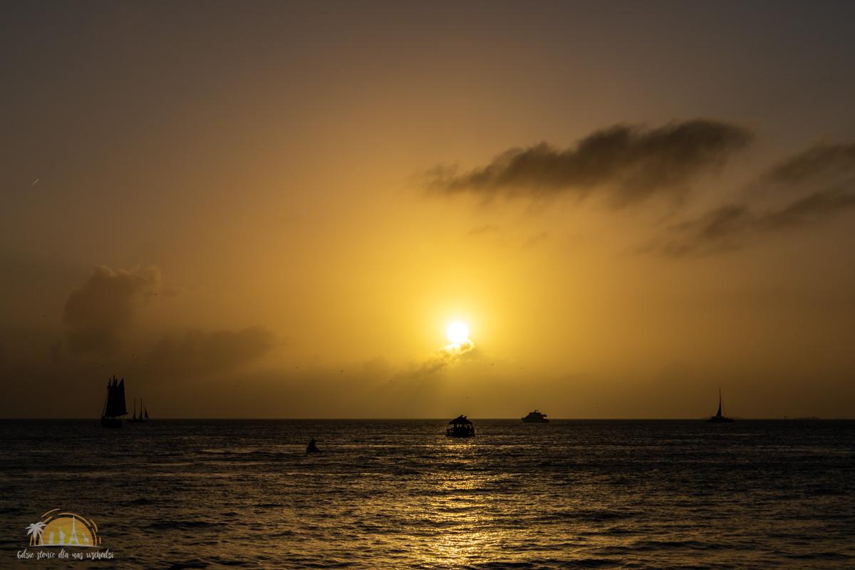 USA Key West zachód słońca 20