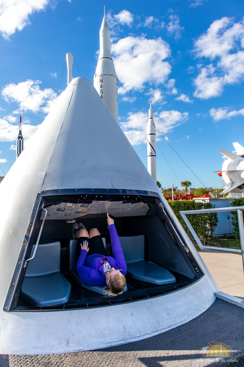 USA Kennedy Space Center Rocket Garden 3_