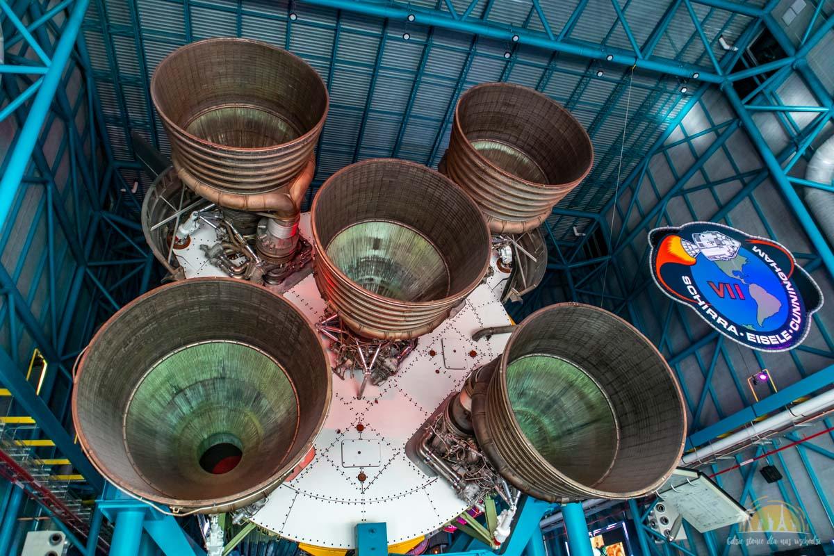 USA Kennedy Space Center Saturn V 17