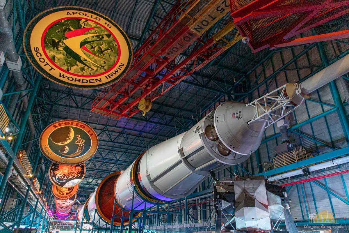 USA Kennedy Space Center Saturn V 18